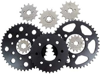 11-12 GSXR 600 JT Front and Rear Sprocket